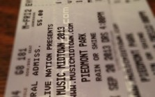 Music Midtown Tickets 2013